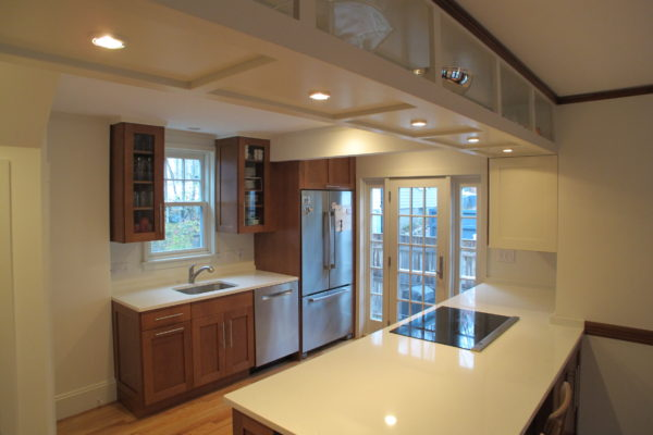 Traditional Craftsman Kitchen, Brookline MA